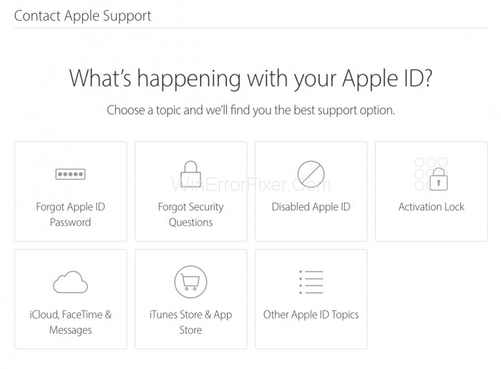 Contact Apple Support Directly