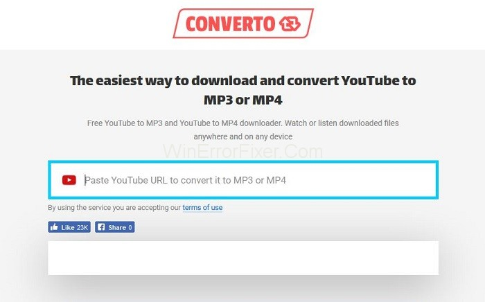 Converto - Best Free Online YouTube Video Converters
