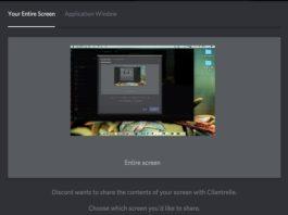 Discord Screen Share Audio Not Working Error
