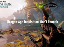 Dragon Age Inquisition Won't Launch Error in Windows 10