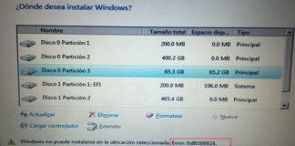 Error 0x80300024 When Installing Windows