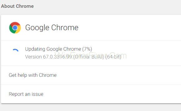 Update Google Chrome To Fix Error Loading Player No Playable Sources Found