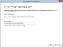 Windows 8.1 Product Key and Activation