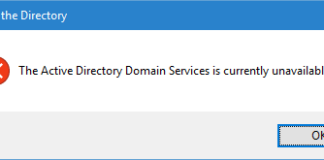 How to Fix The Active Directory Domain Services is Currently Unavailable Windows 7, 8 and 10