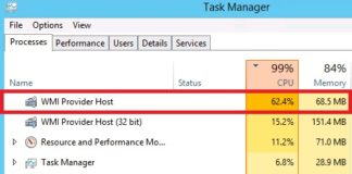 WMI Provider Host High CPU Usage On Windows 10