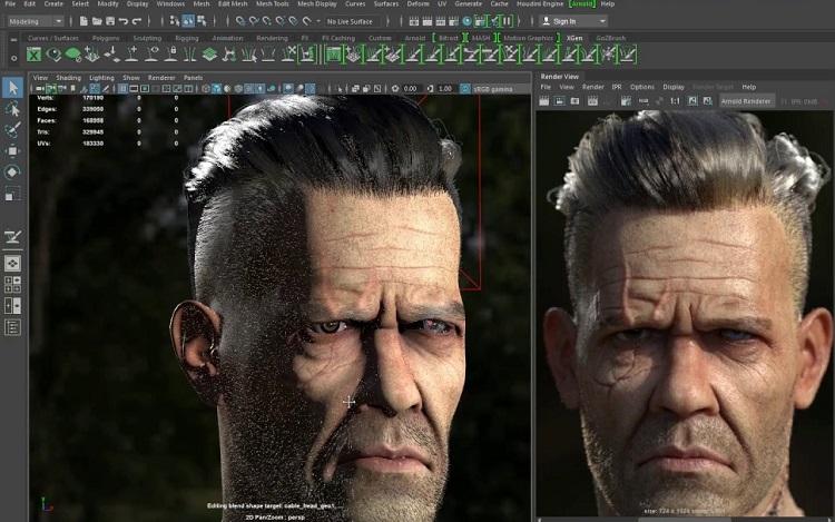 Autodesk Maya - 3D Modeling Software