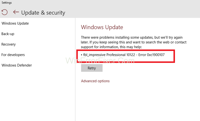 Upgrade Error 0xc1900107 on Windows 10, 8.1, 7