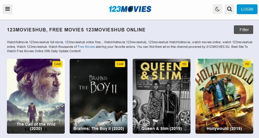 123MoviesHub - sites like fmovies.io