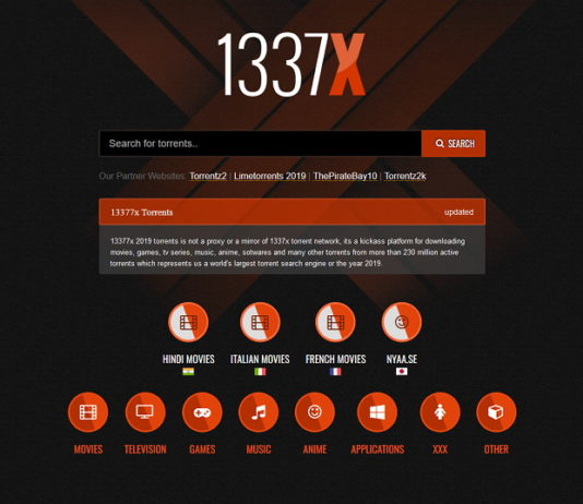 Best 1337x Torrent, Unblock and Alternatives Sites Like 1337x