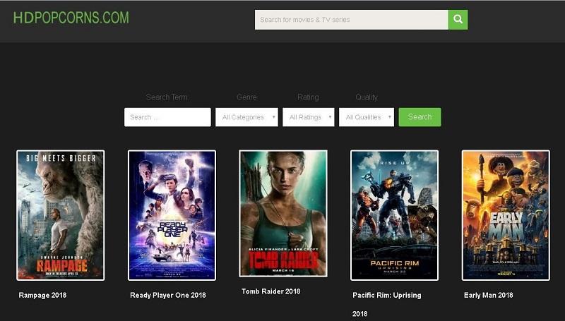HD Popcorns - alternatives to FMovies