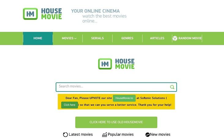 House Movie Best Sites Like FMovies