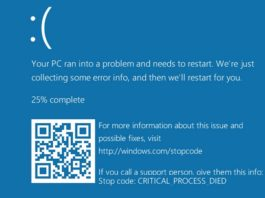 How to Fix Critical Process Died Error in Windows 10