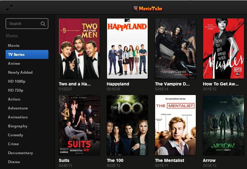 MovieTube sites like fmovies