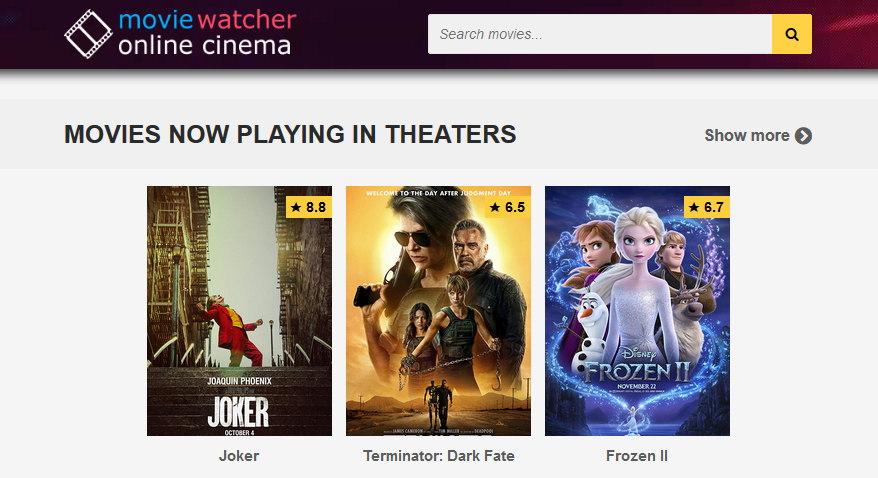 MovieWatcher - f.movies