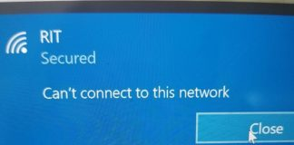 Can't Connect to This Network in Windows 10