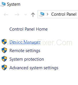 Choose Device Manager