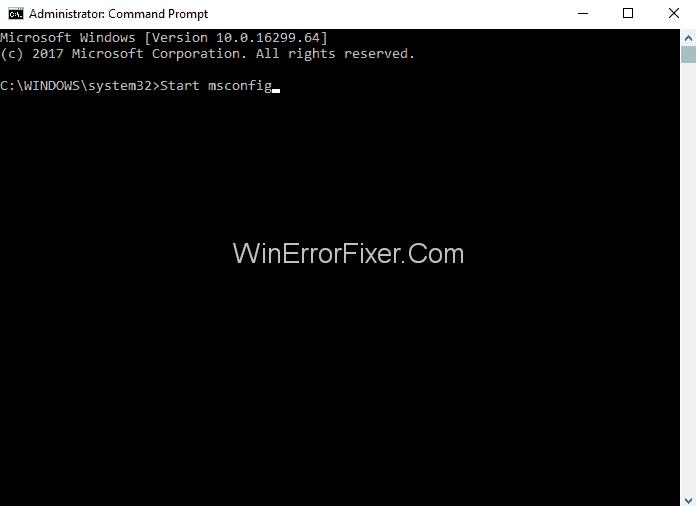 Use MSConfig to Fix sppextcomobjpatcher.exe errors