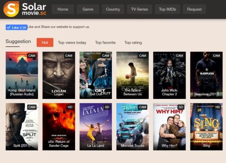 Best Sites Like Solarmovie to Watch Free Movies and TV Shows