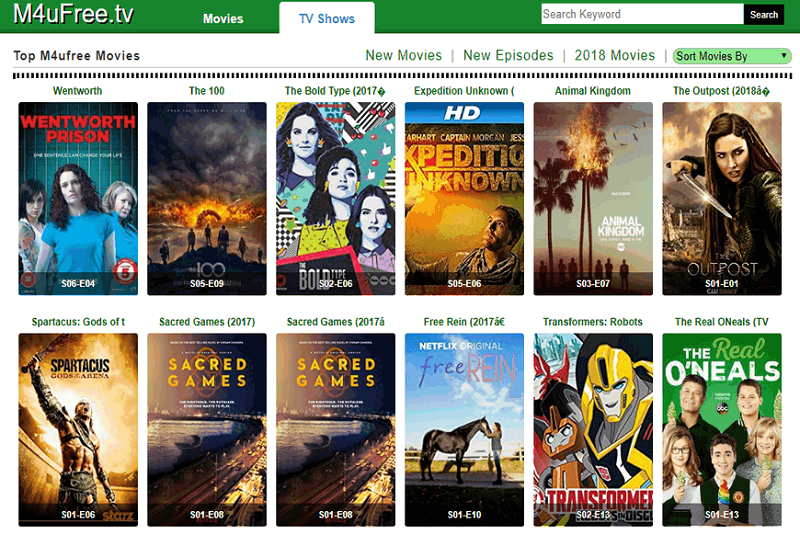 Best Sites like M4uFree to Watch Movies and TV Shows Online Free in 2020