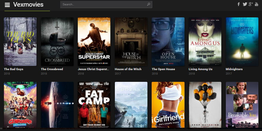 Best Sites like VexMovies to Watch Movies for Free
