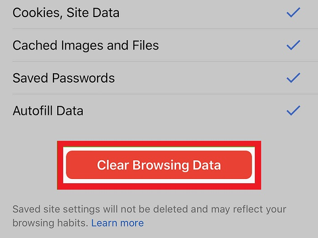 How to Find and Clear Browsing History
