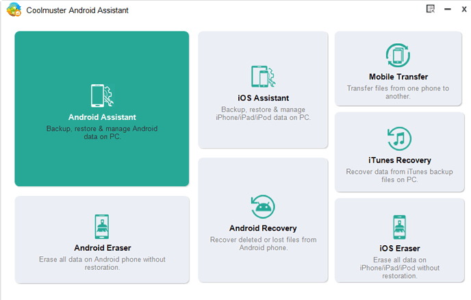 coolmuster android assistant toolbox registration