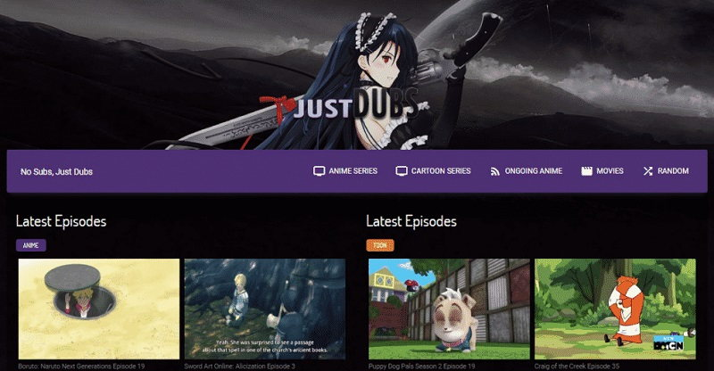 Best Sites Like JustDubs to Watch English Dubbed Anime