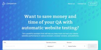 Comparium Automated Website Testing Tool