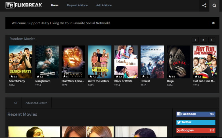 FlixBreak Best Sites like Rainiertamayo