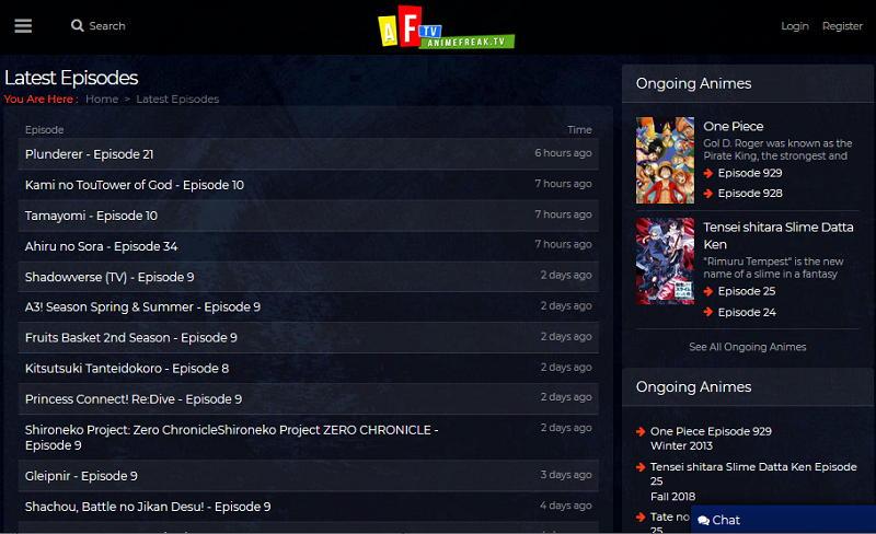Best Sites Like AnimeFreak to Watch Latest Anime Shows