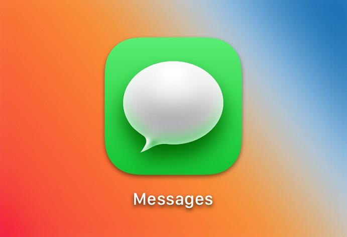 Big Sur Messages App