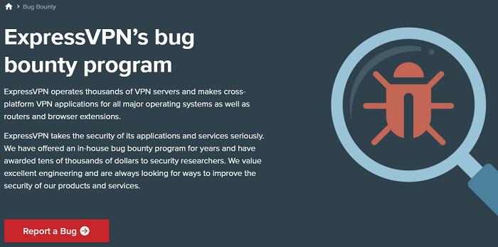 Participate in ExpressVPN's Bug Bounty Program