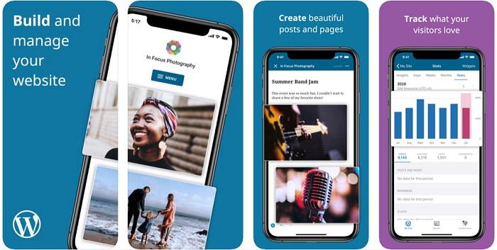 WordPress App for iOS Devices