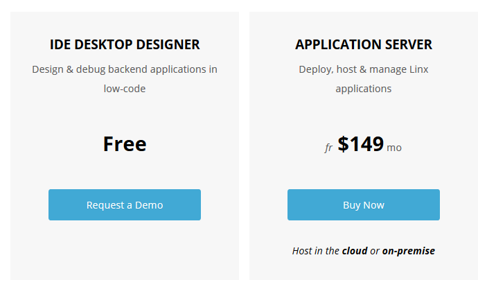 Linx Software Pricing