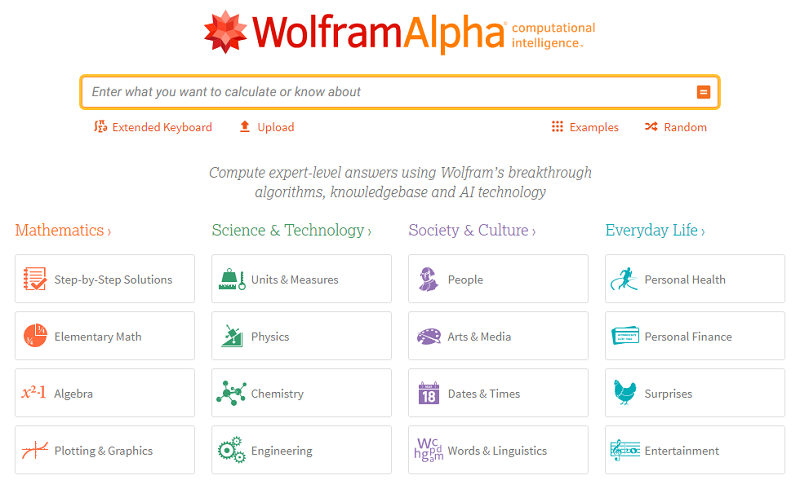 Wolfram Alpha Best Android Application for Student