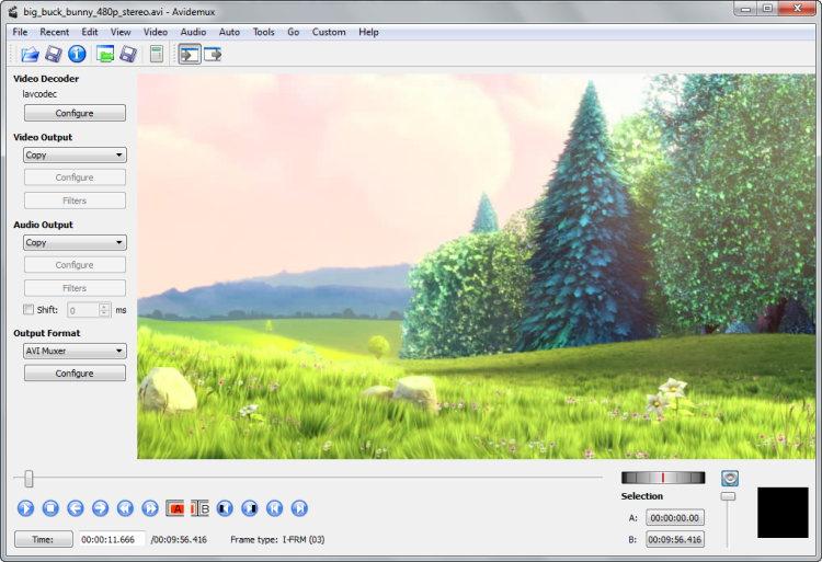 Avidemux Free Video Editing Tool