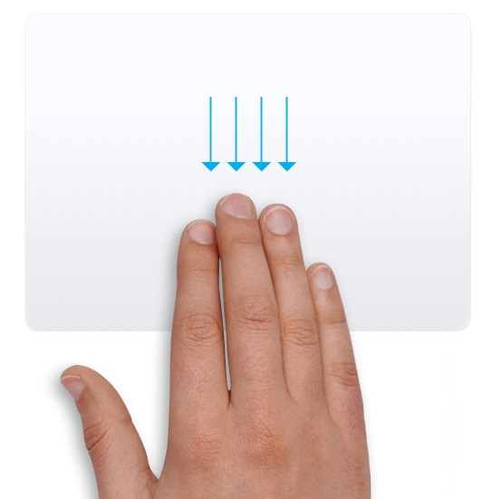 Use Gestures When Launching the Apps in Full-Screen Mode