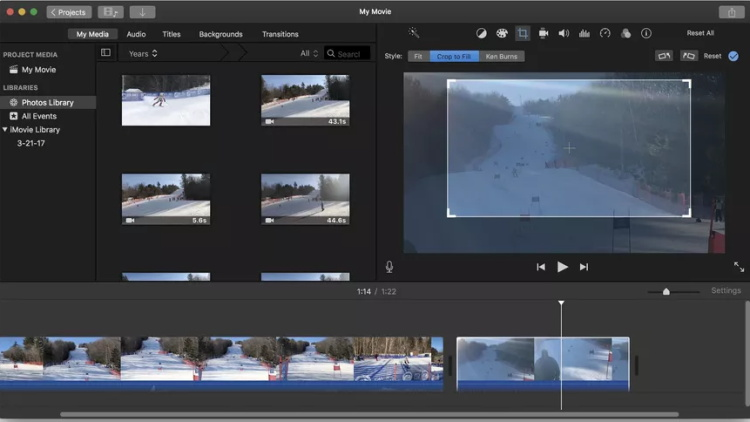 iMovie Video Editing Software