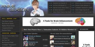 AnimeSeason Alternatives to Watch Anime Online