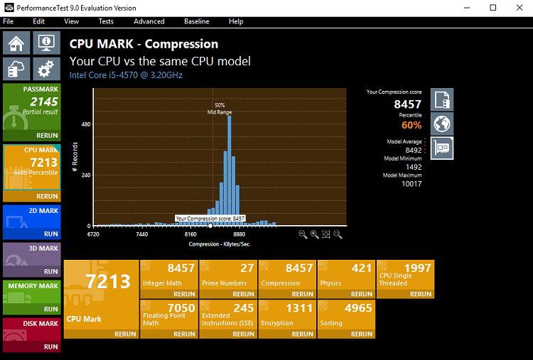 PassMark PerformanceTest Benchmark Software