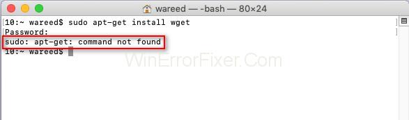 Sudo: Apt-Get Command Not Found