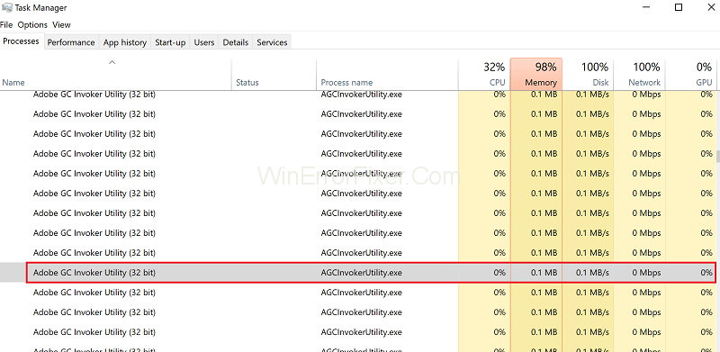 Adobe GC Invoker Utility