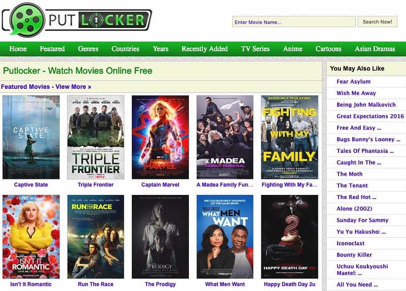 Best Alternatives to Putlocker to Watch Free Movies and TV Shows