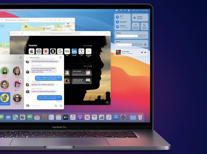 Mac OS Big Sur Widgets