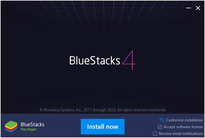 BlueStacks 4 installer