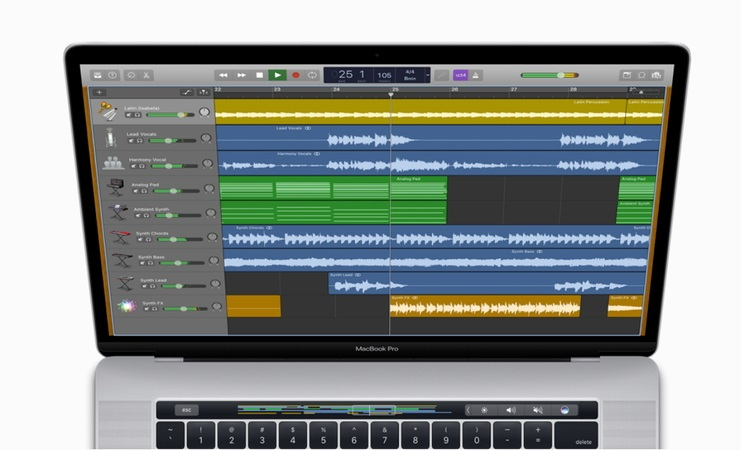 GarageBand Software for Audio Recording