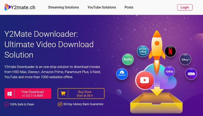 Y2Mate Downloader Software