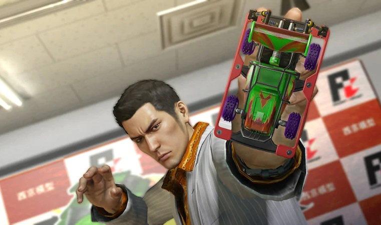 Games of the Yakuza Seriesa
