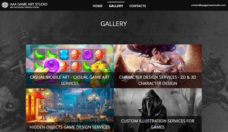 AAA Game Art Studio Gallery